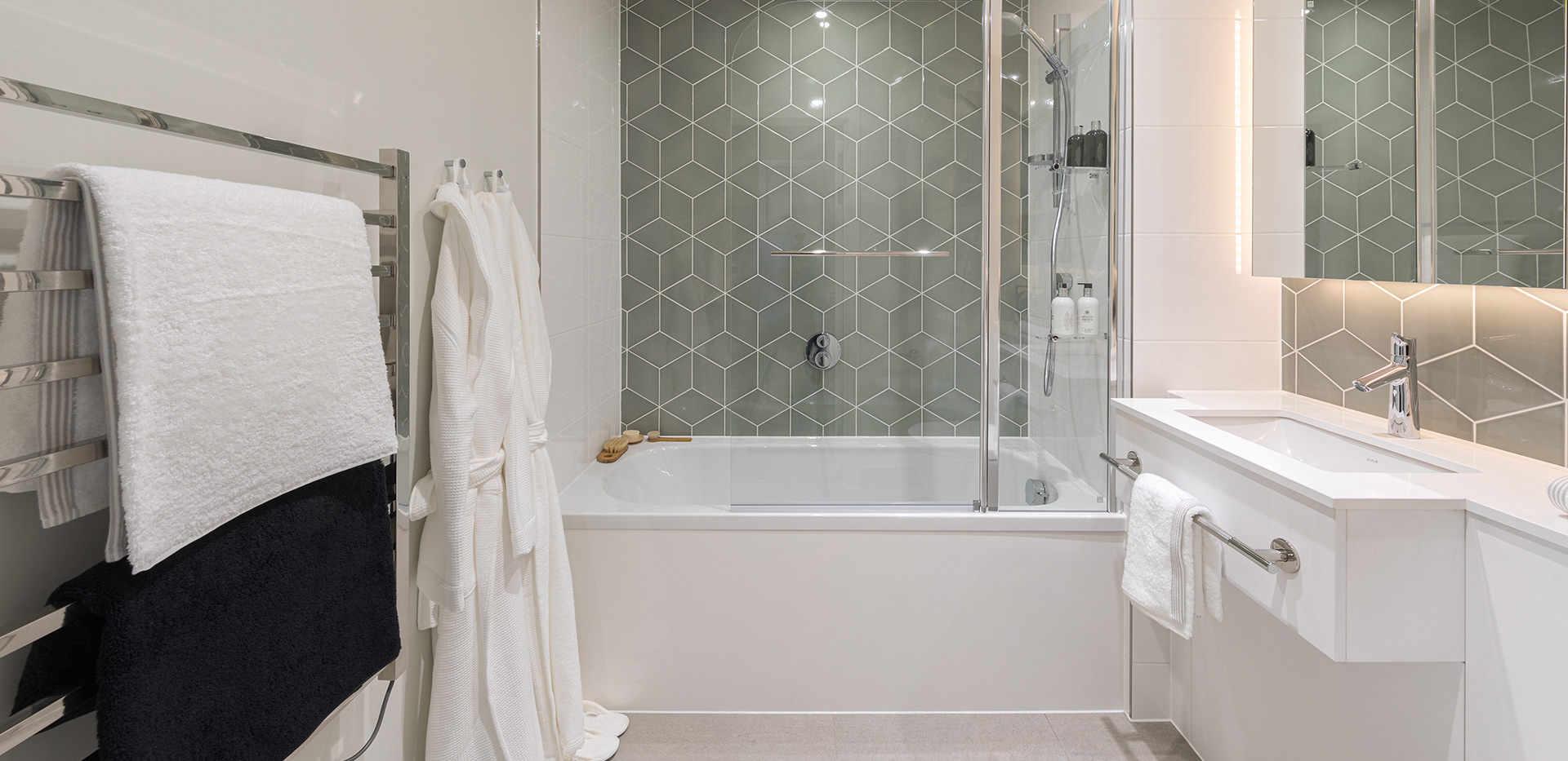 ванная квартира лондон