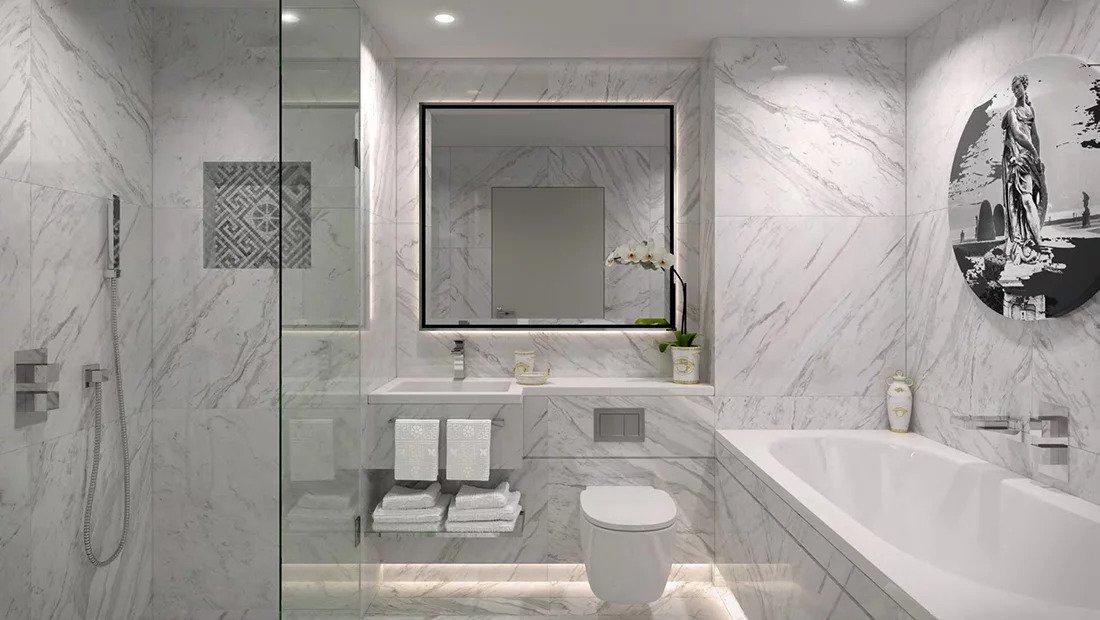 Ванная комната квартира в Лондоне