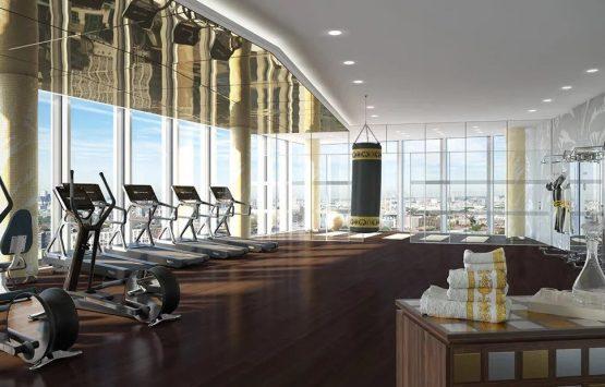 приватный тренажерный зал квартира в Лондоне