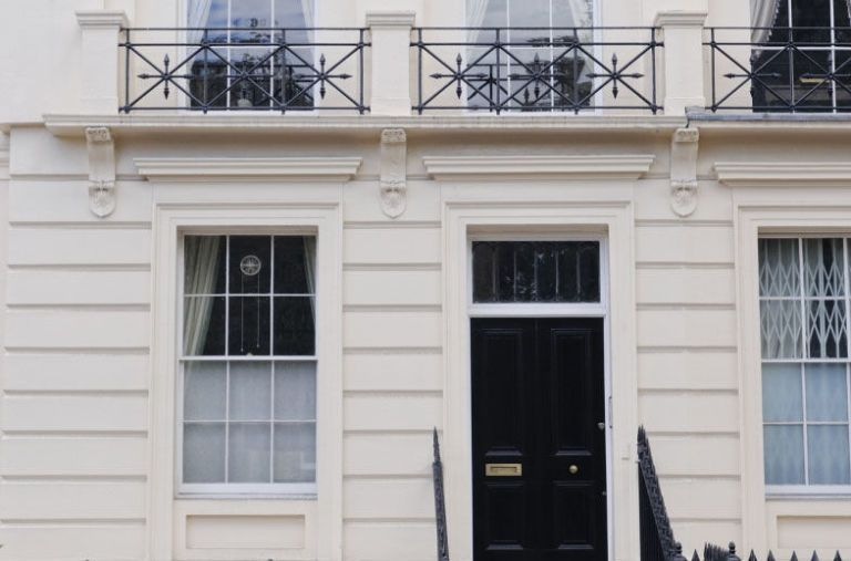 ГЕОРГИАНСКИЙ дом недвижимость Англия