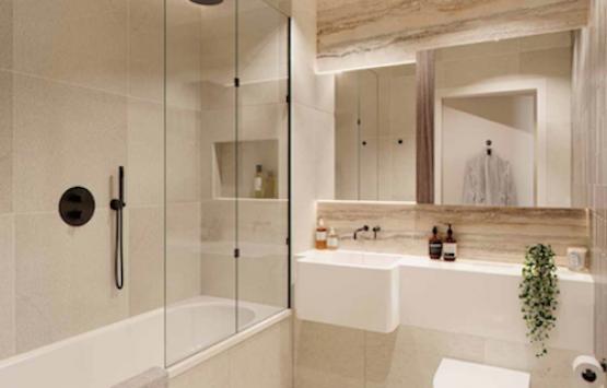 ванная комната квартира лондон