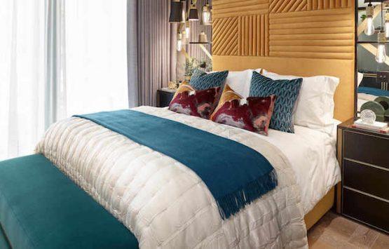 спальня в элитном районе Лондон