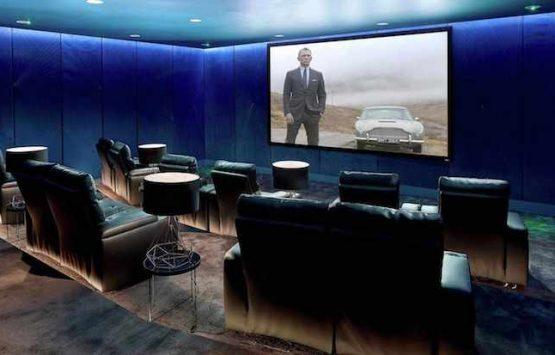 приватный кинотеатр Лондон