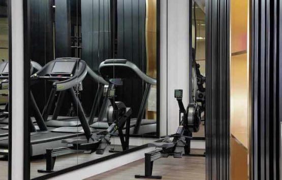 тренажерный зал класса люкс квартира Лондон