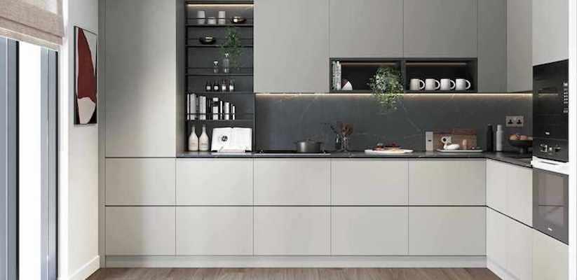 кухня квартира лондон